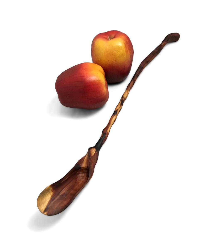 Cedar Tasting Spoon Hand Carved
