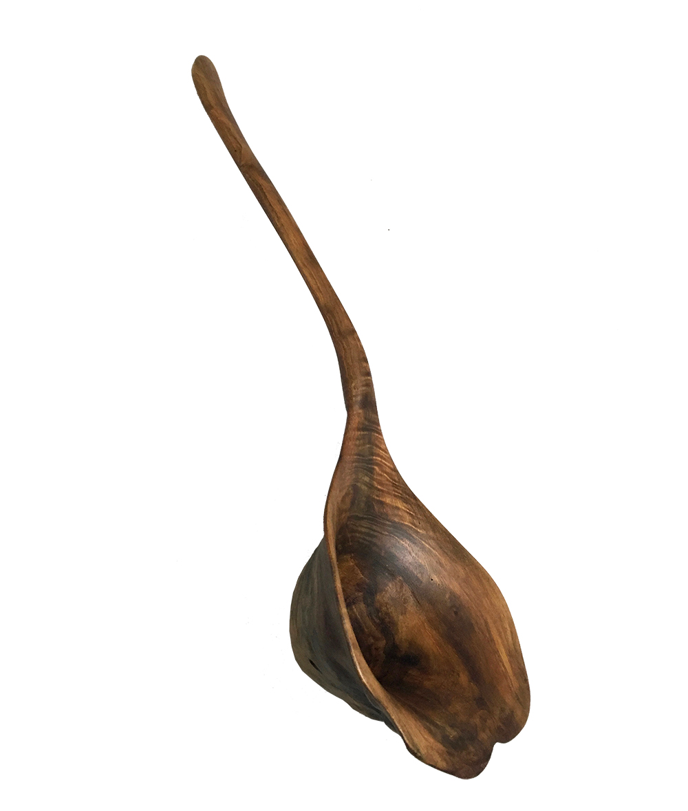 Maple Wood Ladle Handcrafted